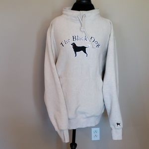The black dog heavy weight pullover tan